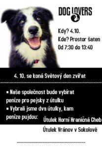 Dog lovers sbírka studentská společnost